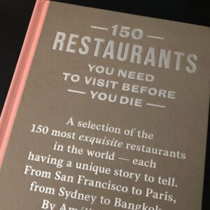 Billede af bog 150 restaurants you need to visit before you die