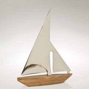 Sejlskib med alu-sejl