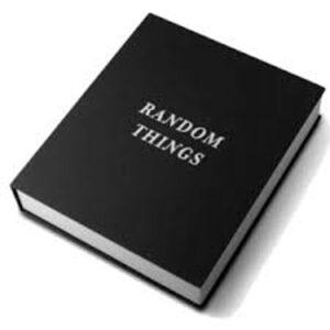 Bog random things i sort