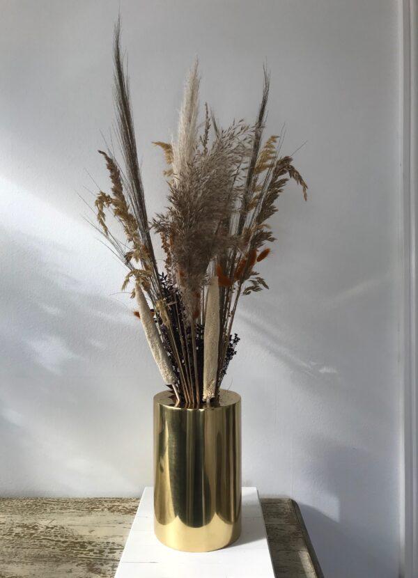 Evighedsbuket brun/ jordfarver