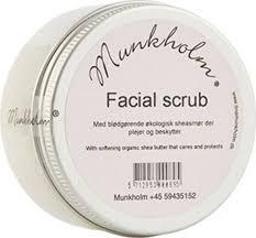 Facial scrub fra Munkholm
