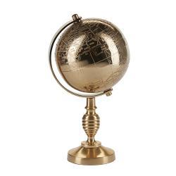 Globus shopbillede i guld