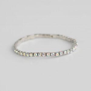 Tennisarmbånd sølv