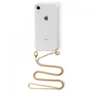 Iphone cover med guld rem 7/8 PLUS
