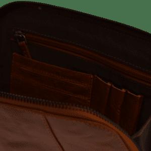 Kabel taske Cognac miljøbillede 1