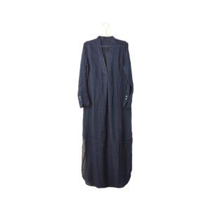 Kjole marineblå shopbillede