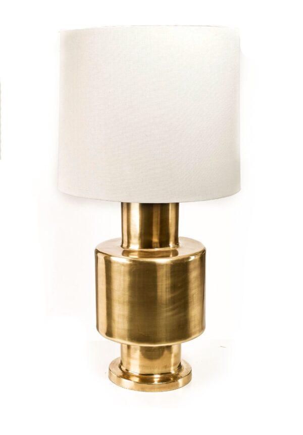 Lampe i messing