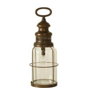 Lanterne med pære 35 cm