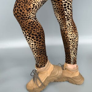 Leopard leggings vol 3 shopbillede 2