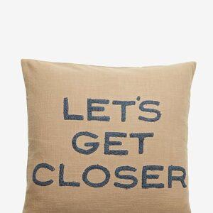 Pude med citat Let´s get closer