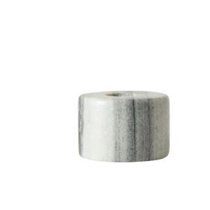 Marmor lysestage i hvid shopbillede