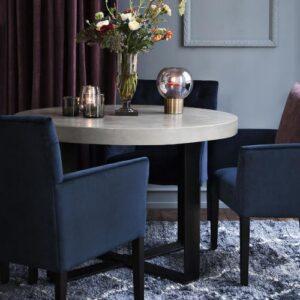 Miljøbillede stole sander royal blue