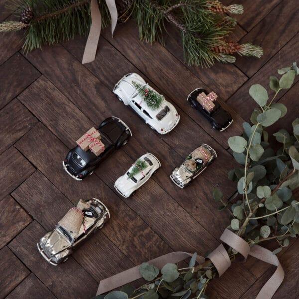 Miljøbillede af forskellige biler