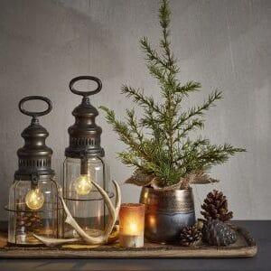 Miljøbillede af lanterner