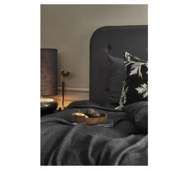 Miljøbillede sengetæppe -Coal 280x260