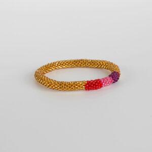 Nepal perle armbånd-A042