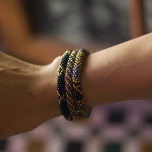 Nepal perle armbånd-BD122 miljøbillede