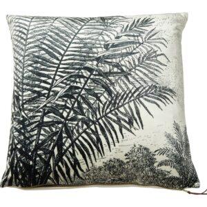 Pude med palmeblade sort