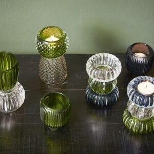 Rille miljøbillede lysestage