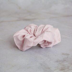 Scotty scrunchie i rosa