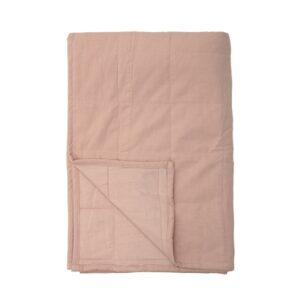 Sengetæppe i rosa shopbillede