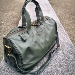 Shopbillede grøn rejsetaske