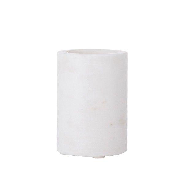 Shopbillede krus i hvid marmor