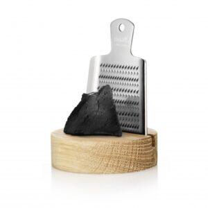 Shopbillede rivsalt lakrids med lille rivejern