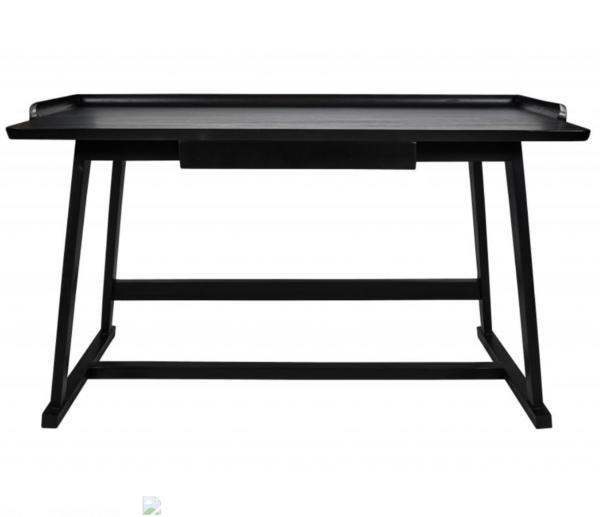 Skrivebord i sort akacie træ
