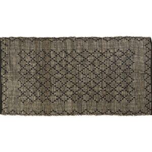 Tæppe med ruder shopbillede