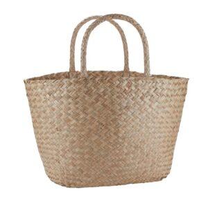 Taske i sægræs shopbillede
