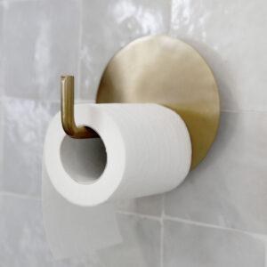Toiletpapirholder, Text miljøbillede 2