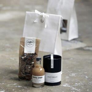 gavepose indhold kaffe