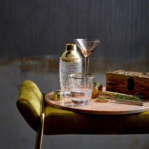 miljøbillede af cocktail barsæt i guld