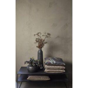 Miljøbillede i grå velour