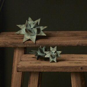 Flettet stjerne i metal
