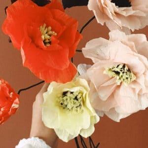 poppy miljøbillede i rød