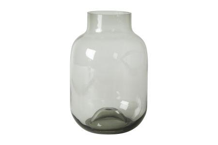 vase grå stor 17x25