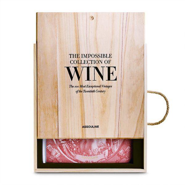 Vin bog i trækasse